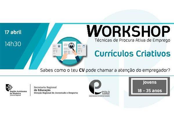 WORKSHOP CURRÍCULOS CREATIVOS