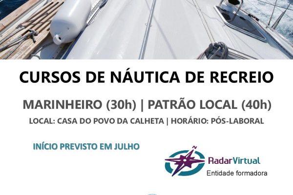 CURSO DE MARINHEIROS E PATRÃO LOCAL (NOVA FORMAÇÃO)