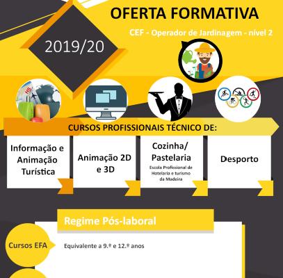 OFERTA FORMATIVA 2019-2020 | ESCOLA BÁSICA E SECUNDÁRIA DA CALHETA