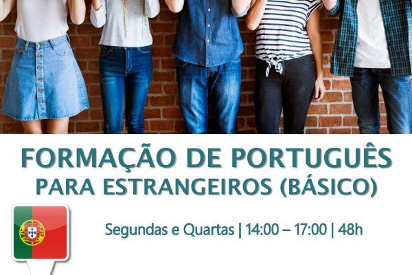 FORMAÇÃO DE PORTUGUÊS PARA ESTRANGEIROS (BÁSICO)