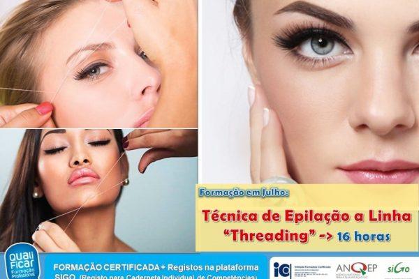 CURSO DE TÉCNICA DE EPILAÇÃO COM LINHA (THREADING)