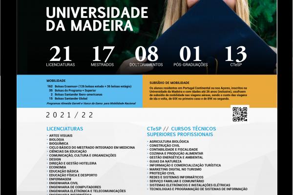 UNIVERSIDADE DA MADEIRA 2021/2022